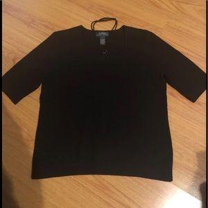 Ralph Lauren cashmere sweater; size XL